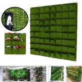 9-64 zakken Plant Pot voelde verticale tuin opknoping groene muur plantenbakken zakje
