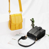 Teléfono simple Bolsa Cute Wild One Shoulder Messenger Small Square Bolsa Wide Shoulder Bolsa Small Bolsa