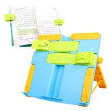 Portable Book Book Bookends livres de lecture support recettes étagère porte-organisateur pliable