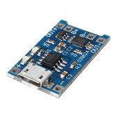 Geekcreit® Micro USB 3,7v 3,6V 4,2V 1A 18650 TP4056 Módulo carregador de lítio Bateria Placa de carregamento Placa de fonte de alimentação de íon-lítio