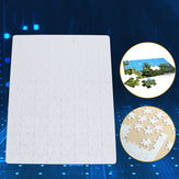 DIY A4 29x20cm Blank Dye Sublimation Printable Jigsaw Puzzle Toy For Heat Press