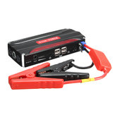11000mAh Car Jump Starter 4USB Multi-Function Powerbank Battery Booster Pack for 12V 4.0L Petrol 2.5L Diesel Engine
