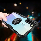For Xiaomi Redmi Note 8 Case Bakeey 360° Adjustable Ring Holder Anti-slip Shockproof Transparent TPU Protective Case Non-original
