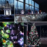12M 100LED 8 modos String Light USB Holiday Christmas Lights Decorativo Lámpara para Home Indoor Party Boda Guirnalda Decoraciones navideñas Liquidación Luces navideñas