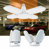 AC85-265V E27 60W lampe de garage pliable déformable universelle 235LED plafond réglable Shop Light Ampoule