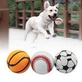 3PCS Giocattoli per palline da tennis per cani da compagnia per cuccioli Fetch Thrower Roller Gioca a Hyper Training Game