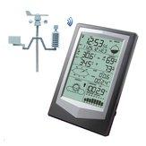 PCリンク家庭用ワイヤレス温度計湿度計気圧計天気予報付きWS1040プロの気象ステーション