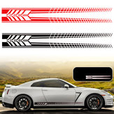 Sports Racing Stripe Graphic Stickers Truck Auto Car Body Side Door Vinyl Decals