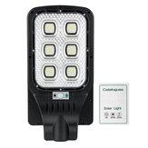 108LED 10000mAh Bateria Luz de rua solar Controle de botão de controle de luz Controle Remoto