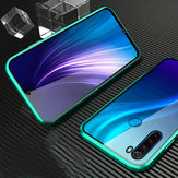 Bakeey Xiaomi Redmi Note 8 360º Curved Screen Front+Back Double-sided Full Body 9H Tempered Glass Metal Magnetic Adsorption Flip Protective Case Non-original