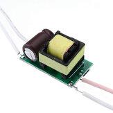 4W 5W 6W 4-6W wejście sterownika LED AC 85-265V do DC 12 V-24 V wbudowany napęd oświetlenie zasilania dla DIY lampy LED