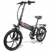 [EU Direct] SAMEBIKE 20LVXD30 48V 350W 10.4AH Vélomoteur électrique Vélo 20 pouces Vélo électrique 35 km / h Vitesse maximale 80 km Kilométrage