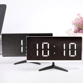 Multifunctional LED Digital Alarm Clock Time Snooze Temperature Table Bedside