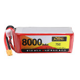 ZOP Power 14.8V 8000mAh 75C 4S Lipo Battery XT60 Plug for RC Car Quadcopter