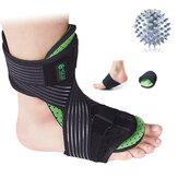 足首サポートブレース圧縮腱の痛みを軽減するストラップ足の捻rain怪我ラップ