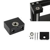 Suporte de rolamento de haste Z de parafuso de chumbo de eixo Z de alumínio com caixa de rolamento para impressora 3D Creality 3D CR-10 Enedr-3/Pro