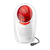 Bakeey Wireless Waterproof Outdoor Strobe Siren For GSM Alarm System Security For Smart Home