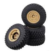 4 STÜCKE HG 6ASS-P06 Reifen & Räder Felgen für P602 1/12 RC Auto Modell Ersatzteile