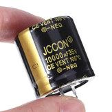 10000 فائق التوهج 35V 35x35mm شعاعي الألمنيوم كهربائيا مكثف عالية التردد 105 درجة مئوية