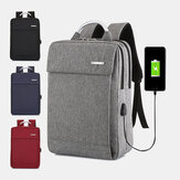 Men Women Large Capacity USB Computer Backpack