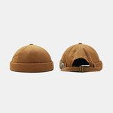 القبعات شخصية يارا بريمليس الصلبة للجنسين اللون قبعة المالك قبعة البطيخ قبعة الهيب هوب