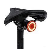 ΜΕΡΟΚΑ ΜΧ2 100LM Smart Sensor Light Brake Inductiεπί 24H Running Time 4 Τρόποςs 500mAh USB Rechargeable 180 ° Floodlight Outdoor Cycling Bike Tail Light IPX6 Waterproof