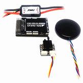 SN-NAVI MAVLINK Controlador de vuelo de audio inteligente FC OSD incorporado + Medidor de velocidad del aire + Módulo PMU + GPS para avión RC Ala fija