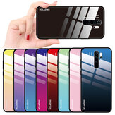 Bakeey Gradient Color Tempered Glass Protective Case for Xiaomi Redmi Note 8 Pro