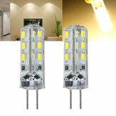 Kingso G4 1.5 W kısılabilir Sıcak Beyaz SMD3014 656873 Bot Avize Kapalı Kullanım için LED Lamba Ampul