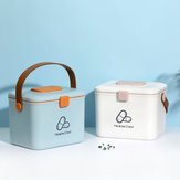 WUMING Home Storage Box From Layered Large Capacity Portable Bag Multi-Divided Compartment Well Sealed Storage Box