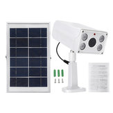 4W LED Motion Sensor Detector Solar Light IP65 Waterproof Security Alarm System Kit Voice Alarm with Solar Powered Human Body Induction Lamp
