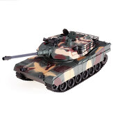 RBR/C M1A2 1/18 2.4G RC Tank Car Vehicle Models Battle Toy