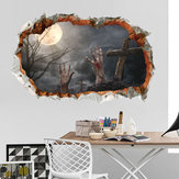 Miico FX64112 Halloween Sticker Wall Sticker Decoration For Living Room Halloween Decoration