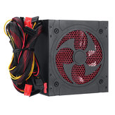 1000W Silent PC Power Supply Juegos PCI SATA ATX 12V 2.31 LED Ventilador Computadora