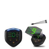 Modo estimulador 6 do controlador do músculo recarregável USB LCD do EMS