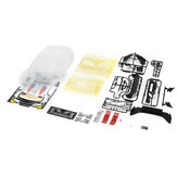 Killerbody 48736 SUBARU BRZ R&D SPORT Clear Body Shell for 1/10 Electric Touring RC Car Parts