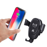 Bakeey Car Gravity Mount Qi Bezprzewodowa ładowarka do iPhone X 8 Plus iPhone XS Plus iPhone