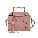Women Cute Tassel Crossbody Handbag Shoulder Evening Bag Messenger Purse