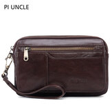 Men Genuine Leather Large Capacity Clutches Taschen