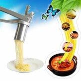 Pasta de acero inoxidable fabricante de fideos exprimidor de frutas prensa espagueti máquina de cocina molde de fideos