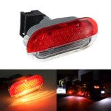 LED Binnendeur Card Courtesy Logo Lights Rood Wit voor VW Golf Mk4 Bora