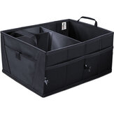 Trunk Cargo Organizer Folding Caddy Car Seat Back Storage Collapse Bag Bin