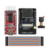 ESP32-CAM WiFi + Bluetooth Development Board ESP32 met FT232RL FTDI USB naar TTL Serieel Converter 40 Pin Jumper Wire Geekcreit voor Arduino - producten die werken met officiële Arduino boards