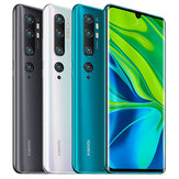 Xiaomi Mi Note 10 Global Version 6,47 tommer 6 GB 128 GB 108MP Penta-kamera 5260mAh NFC Snapdragon 730G 4G Smartphone