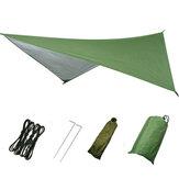 Grand abri de bâche imperméable d'abri de bâche d'abri de tente de camping abris de pluie léger