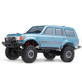 1/18 2.4G Mini off-road indoor vrachtwagen RC auto waterdicht ESC Motor 3 Line Servo voertuigmodellen Rock Crawler