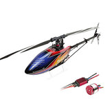 ALIGN T-REX 470LP DOMINATOR 6CH 3D Fly Cinturón Drive RC Helicóptero Kit con 1800KV motor 50A ESC
