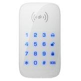 Bakeey 433MHz inalámbrico Wifi GSM Teclado Teclado táctil Sistema de alarma antirrobo para el hogar Control remoto Controlador para el hogar inteligente