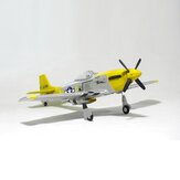 Crochet Mustang P51 V2 EPO 1200mm Envergure RC Avion à voilure fixe KIT / PNP