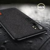 BakeeyCustodiaintessutodilusso con giunzione Soft Silicone Edge antiurto per Xiaomi Mi Nota 10/Mi Nota 10 PRO / Xiaomi Mi CC9 pro